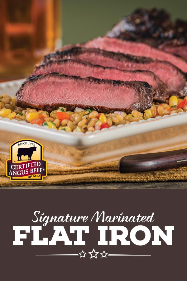 Tender, juicy flat iron steak is marinated in a mixture of Lea & Perrins® Worcestershire Sauce, balsamic vinegar and Dijon mustard for tangy, steakhouse flavor that's certain to become your new grilling favorite.