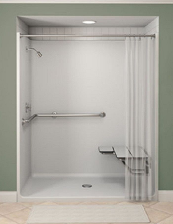 17 Best Ideas About One Piece Shower Stall On Pinterest