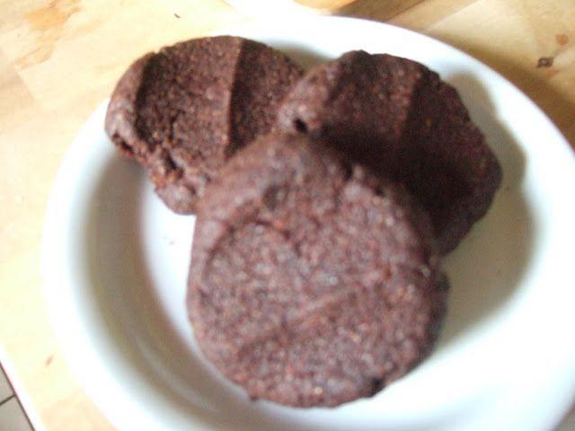 Cretan Cornucopia : Gluten free Carob Cookies