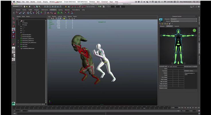 Maya LT for Unity Developers Skeleton Creation