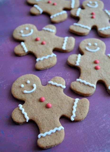 Advent 2: Gingerbread(man) koekjes recept - Laura's Bakery