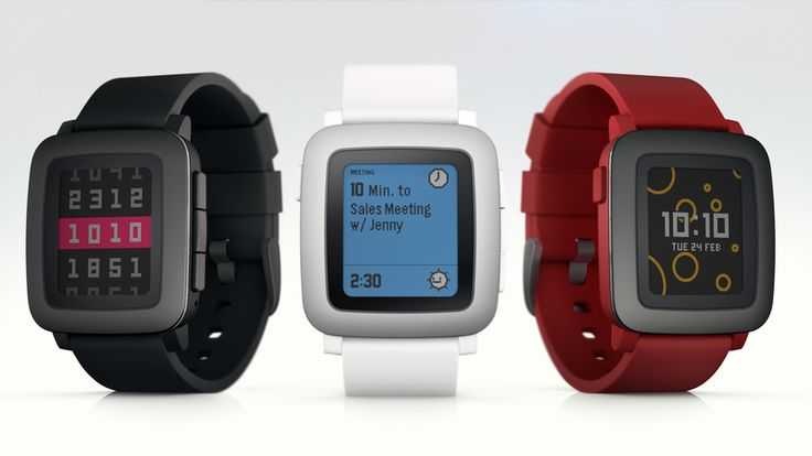 Pebble Time - New Pebble Watch currently on Kickstarter. Color E-Paper / E-Ink Screen