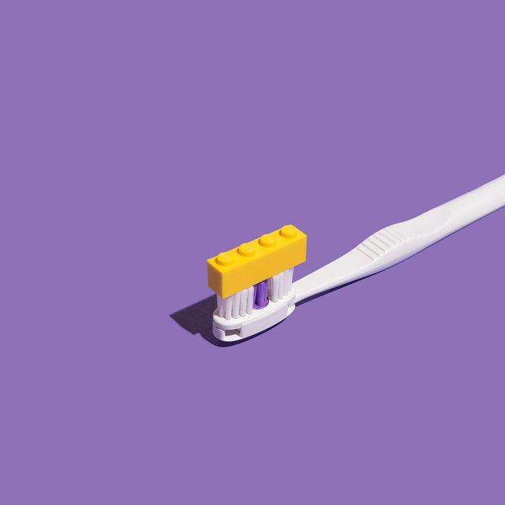 Minimal LEGO on Behance