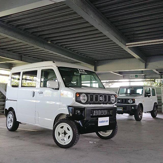 Suzuki キャリィにジムニーの顔を移植 コンプリート販売するらしいぞ キャリィ ジムニー 顔