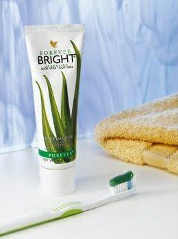 Forever Bright Toothgel – Il Dentifricio Senza Fluoro a base di Aloe Vera, Menta e Propoli