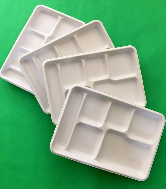 NEW Quality Stainless Steel Divided Lunch Food Serving Tray Bento Box 3121