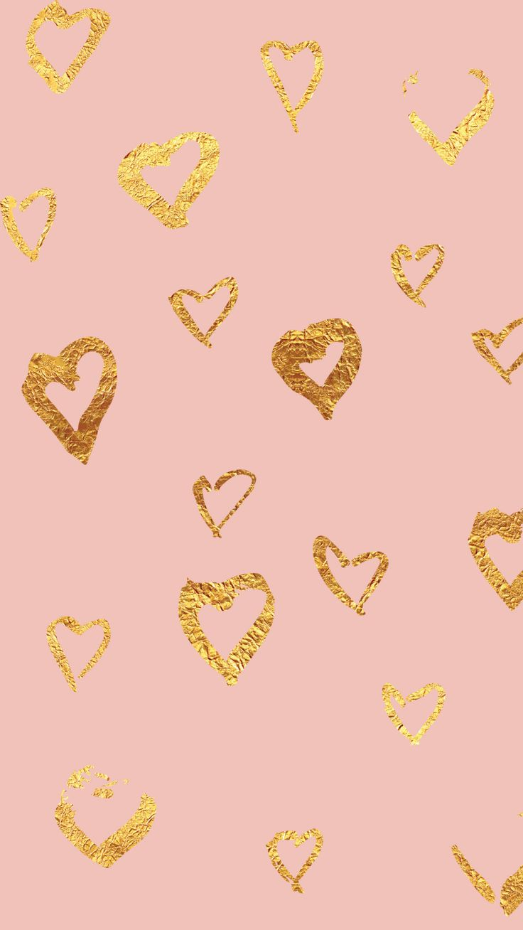 Pink-Foil-Heart-iPhone-Background.png 1 080×1 920 пикс