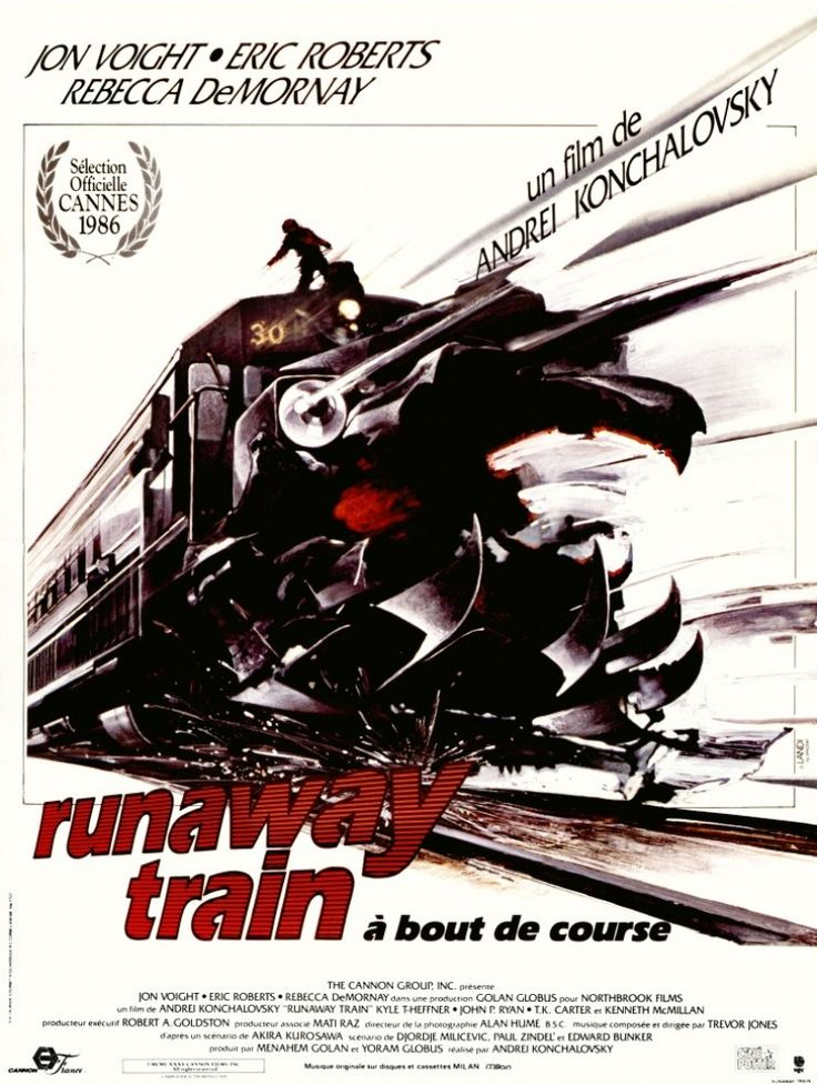 Runaway Train - Eric Roberts' character really got on my nerves, but if you can deal with that then this is a suspenseful film that has a few flaws, but is interesting.