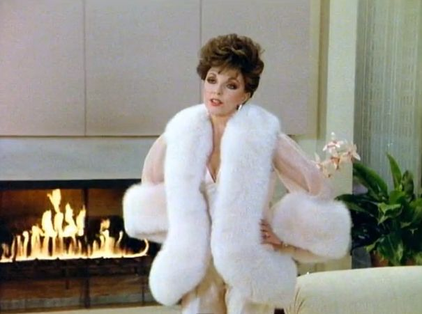"Also, your lingerie should be covered in fur too… | 19 Impeccable Style Tips From ""Dynasty's"" Alexis Carrington"