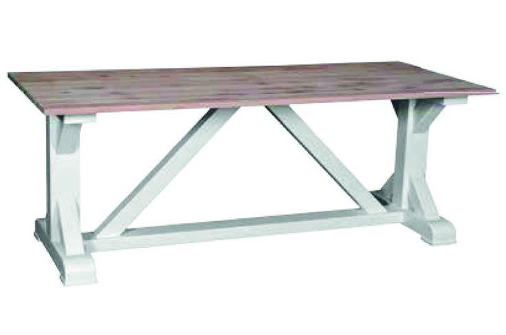 Table de ferme pieds en X - CD541