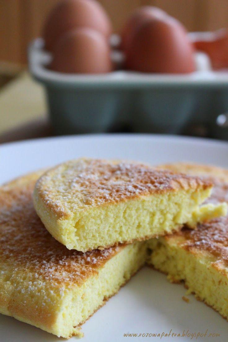 Puszysty omlet biszkoptowy czy biszkopt z patelni?