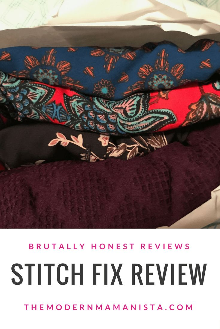 Stitch Fix Review: Pre Fall