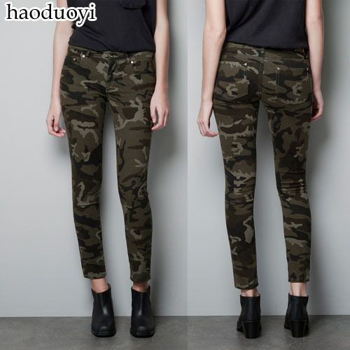 Womens sheath pencil miltary pants with golden buttons decoration for freeshipping and wholesale $15.90