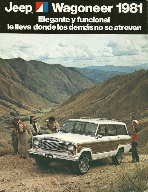 JEEP Wagoneer built in Venezuela | Flickr - Photo Sharing! John Lloyd - American Auto Advertising