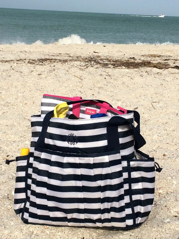 My favorite new beach bag! The New Day Tote by Thirty-One!