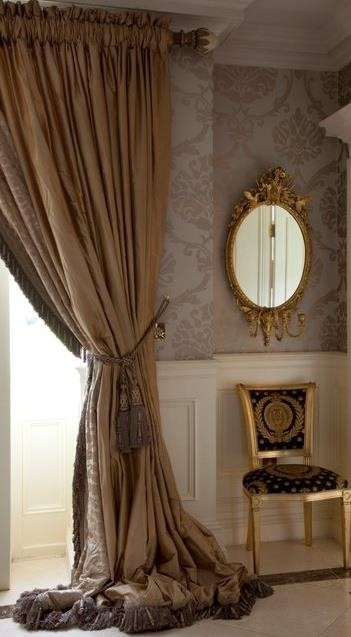 Love these curtains we made for our client. www.skiinteriors.ie