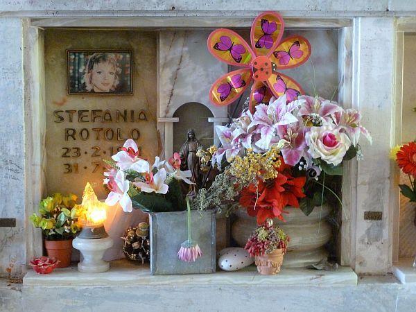 Stefania rotolo tombe famose da - Cimitero flaminio prima porta ...