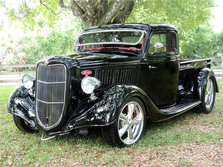 1936 FORD HALF-TON CUSTOM PICKUP - Barrett-Jackson Auction Company - World's Greatest Collector Car Auctions #classictrucks