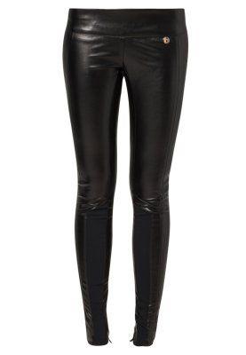 Mangano - Leren broek - Zwart