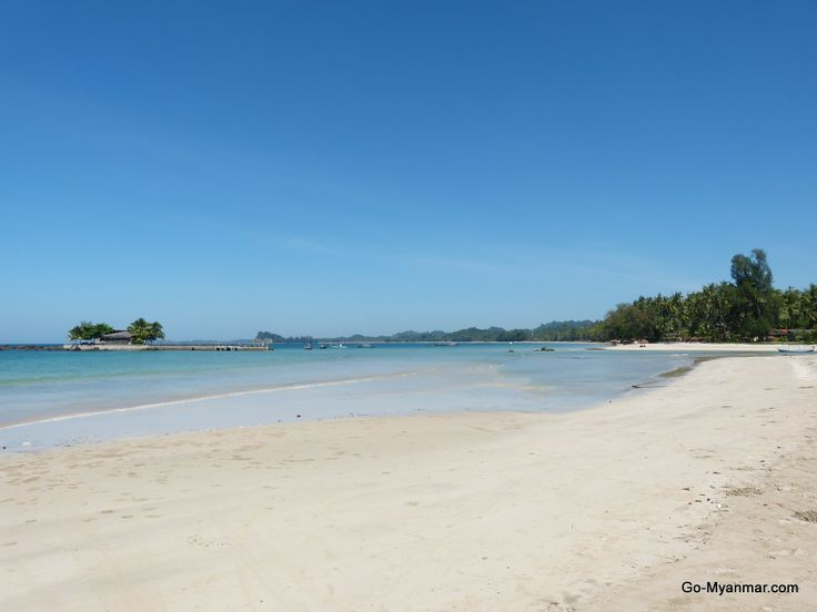 Ngapali main beach. Go here for more information on Ngapali beach: www.go-myanmar.com/nagpali-beach-and-thandwe-sandoway