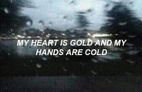 Immagine di cold, quote, and halsey