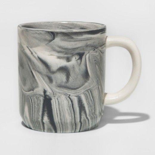 Stoneware Marbleized Mug 10.3oz - Threshold™ : Target