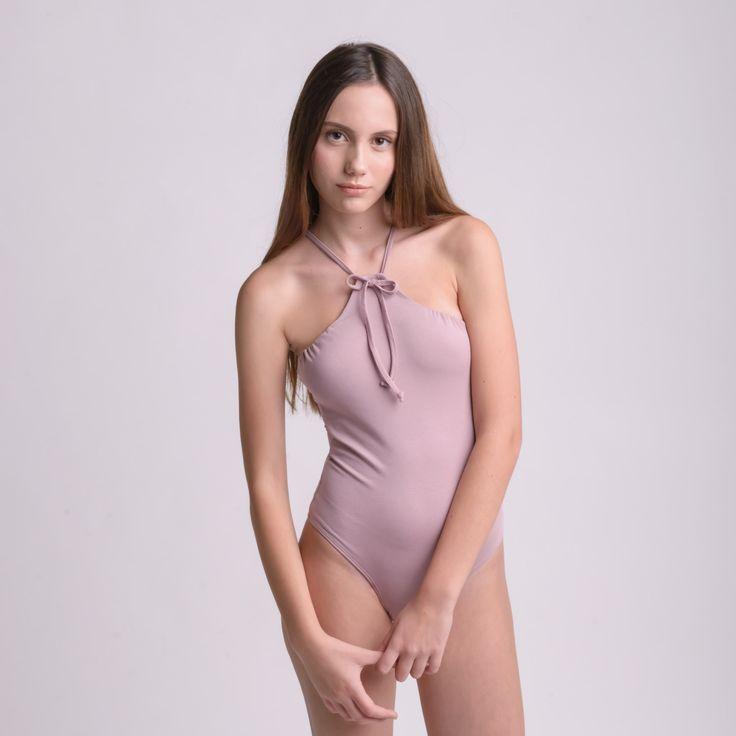 TRUSS PINK bodysuit by bodysuits on Etsy
