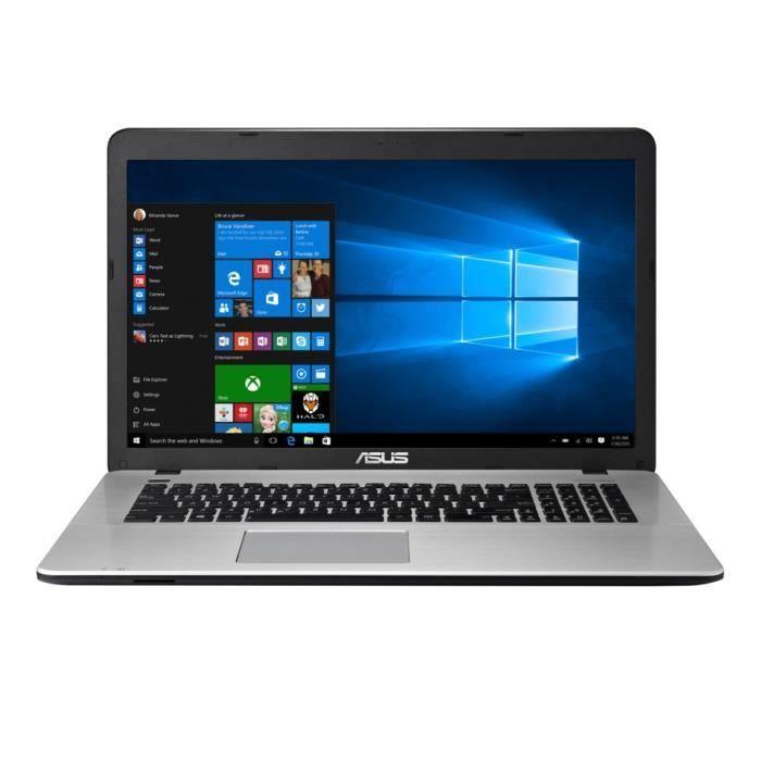 """ORDINATEUR PORTABLE ASUS PC Portable Gamer R753UX-T4039T 17.3"""" - 8Go de RAM - Windows 10 - Intel Core i7 - NVIDIA GeForce GTX 950M - Disque Dur 1To"""