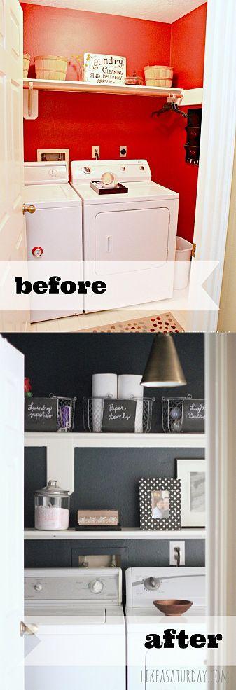 Laundry Room Makeover Pour La Maison La Maison Et Maisons