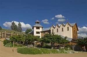 Hillside Estates Winery on the Naramata Bench outside of Penticton,BC
