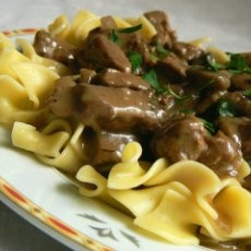 Alyson's Slow Cooker Beef Stroganoff | All Recipes