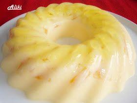 Υλικά   2*100 γρ.ζελέ ανανά  200 γρ. κομπόστο ανανά κομμένα σε κοινούς  400 ml. κρέμα γάλακτος  400 ml. νερό   Προετοιμασία   Ζεσταίνε...