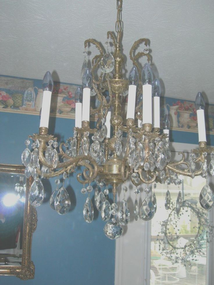 17 Best images about Available stock – American Brass and Crystal Chandeliers
