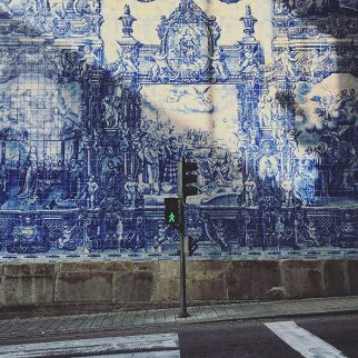 Façade à Porto