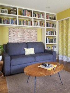 Хранение книг в маленьких квартирах - Реактивные хозяйки