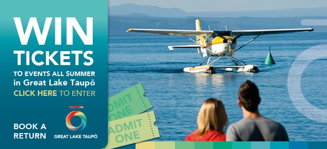 Sign up to Great Lake Taupo What's On newsletter and win tickets to #Taupo events all summer