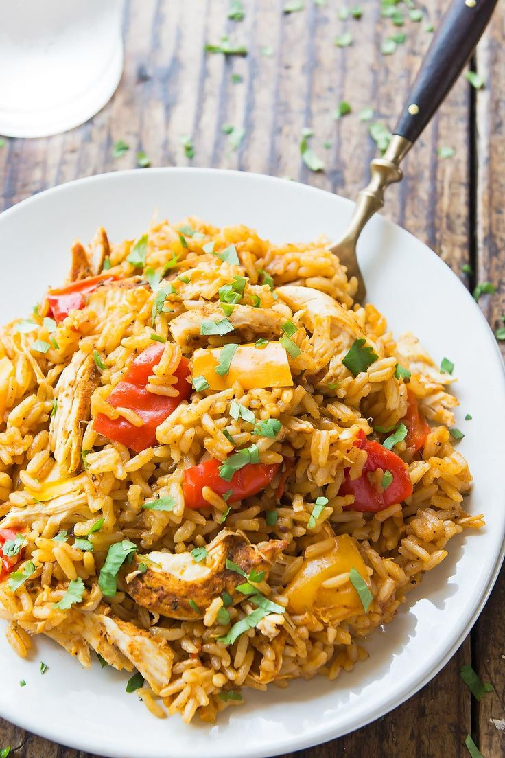 Instant Pot Cajun Chicken and Rice – LeelaLicious