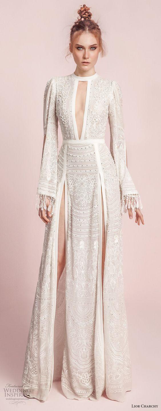 Boho y muy chic. #vestidos #novia