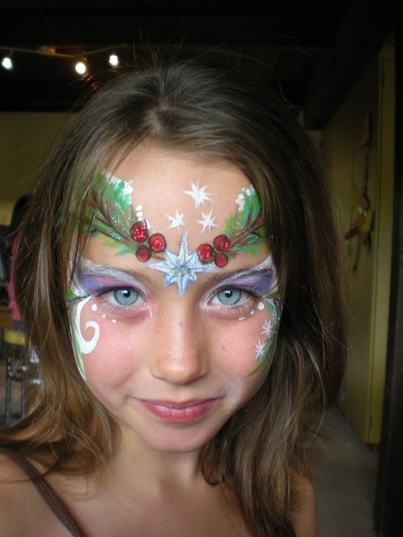 1000 Images About Face Painting Christmas On Pinterest