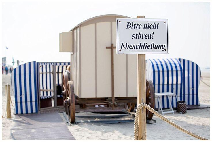 Jenny & Andre - Hochzeit im Badekarren auf Norderney - Sonka Fliege Fotografie