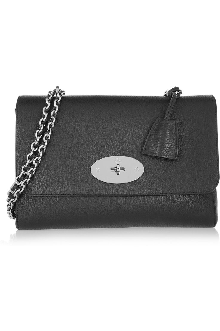 Mulberry - Medium Lily textured-leather shoulder bag