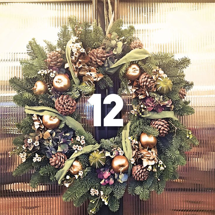 Watch our video on how to make a 'golden Scandinavian' Christmas wreath with Jamie Aston  #ChristmasWreath