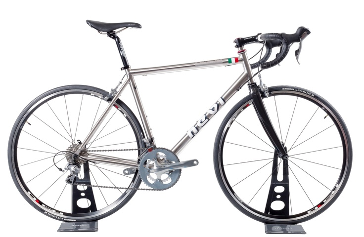 Titanium Classic road bicycle,  real made in Italy