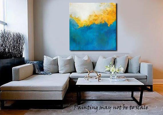 Contemporary Abstract Original PaintingGold Coast