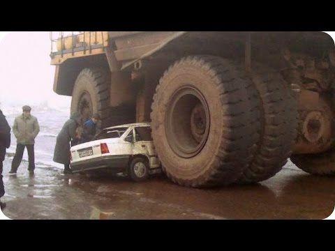 Accidentes de Camiones y Maquinaria pesada En Vivo 2017 - YouTube