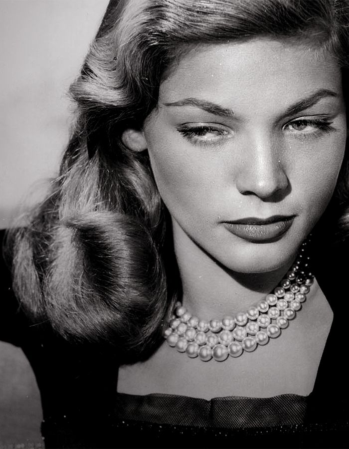 Lauren Bacall's Timeless look.