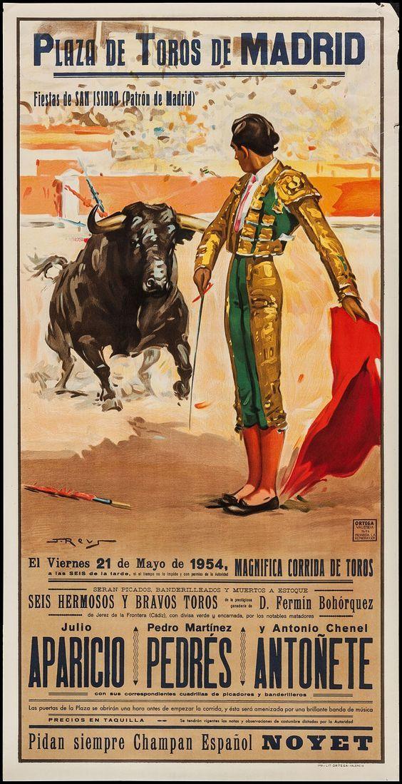 Madrid- Plaza de toros 1954