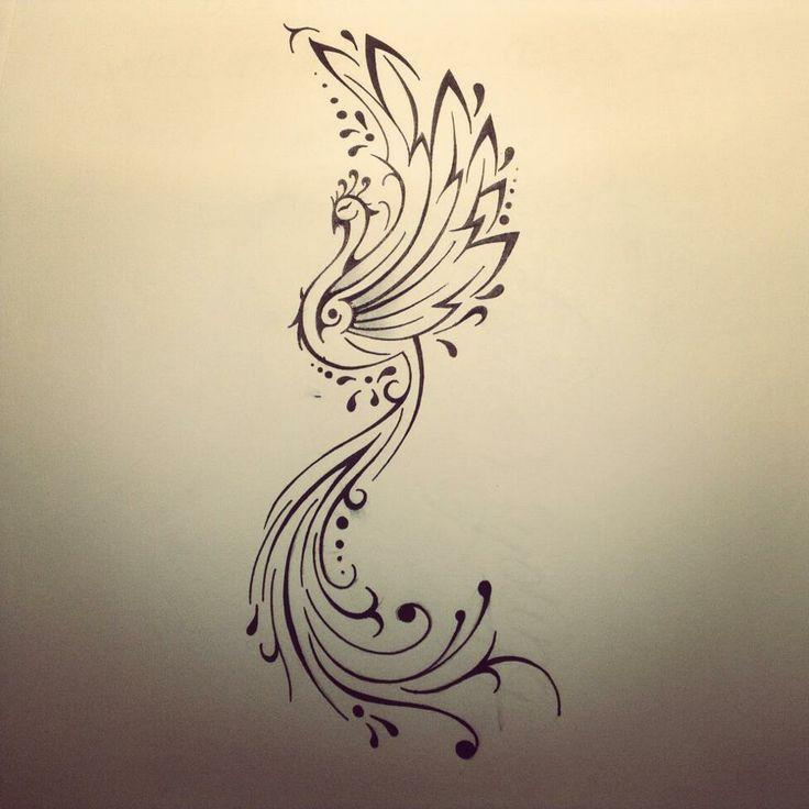 Phoenix tattoo by FingerPrint1404.deviantart.com on @deviantART
