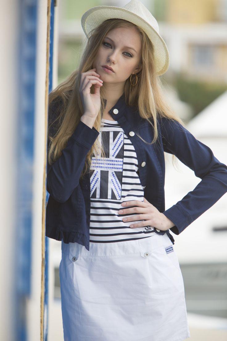 Vestido Triunfo #vestidomarinero #navystyle #navy