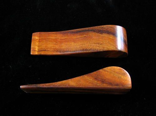 Fancy KDS 9 Koa Wood Door Stop | 453327 | Home Design Ideas